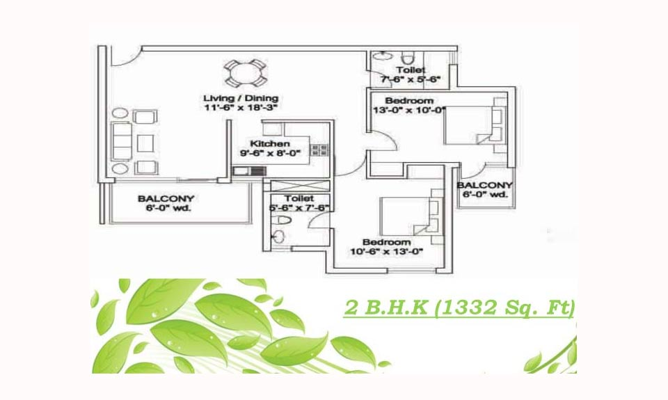Ansal Estella Floor Plan