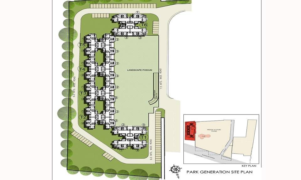 BPTP Park Genaration Master Plan
