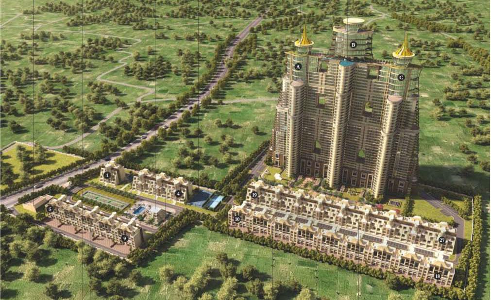 Raheja Revanta Master Plan