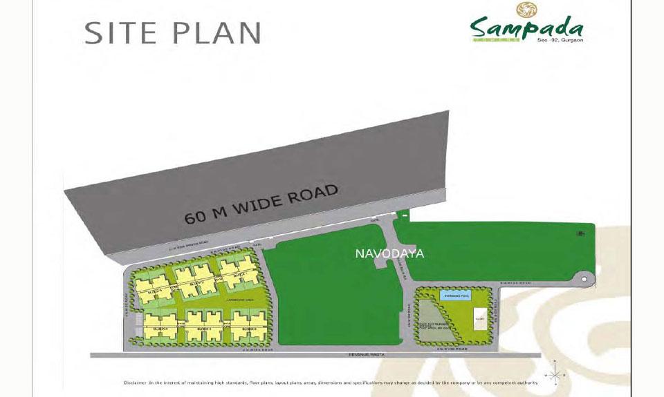 Raheja Sampada Master Plan