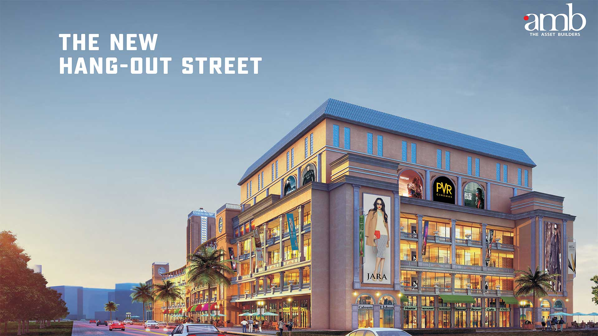 AMB Selfie Street Retail Shops, Anchor Stores, Food Courts on Sector-92 Gurgaon
