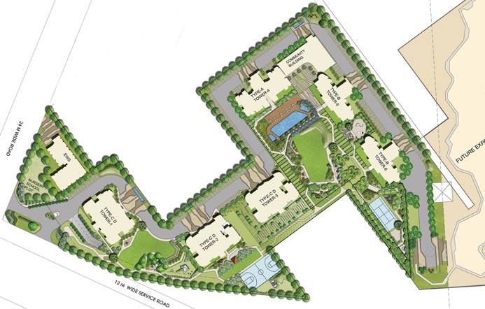 Gurgaon Gateway Master Plan