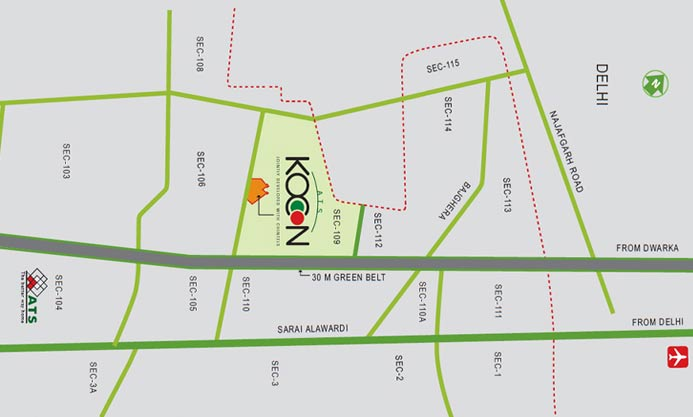 ats Location Map