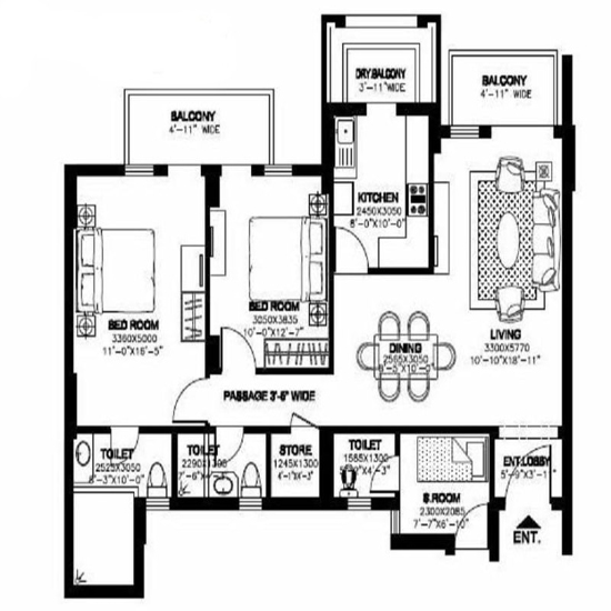 Dlf New Town Heights Sector 90 Gurgaon Price Location Map