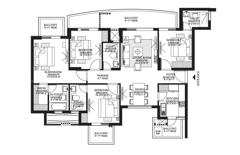 Dlf Primus In Sector 82a Gurgaon Price Floor Plan Layout