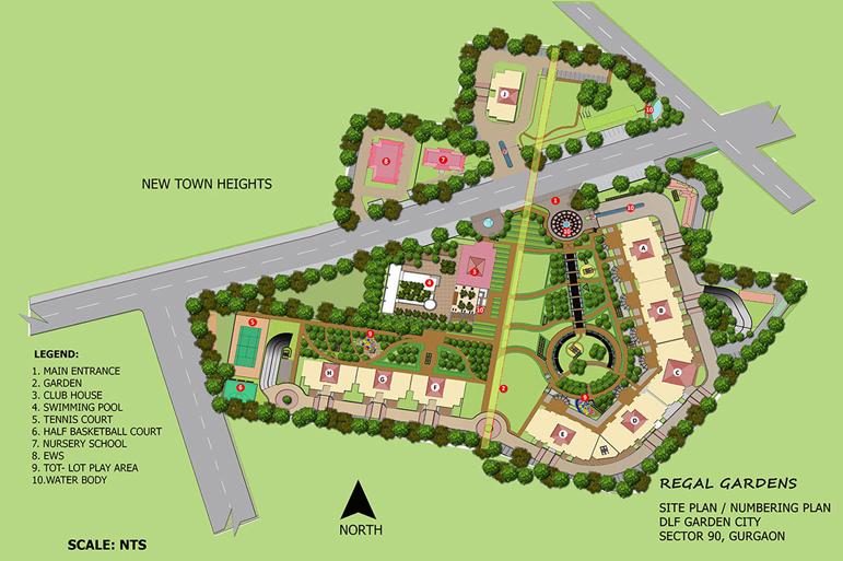 Regal Gardens Gurgaon Master Plan