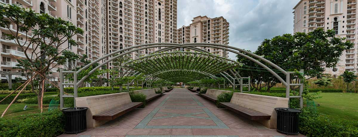 DLF Regal Gardens Actual Images