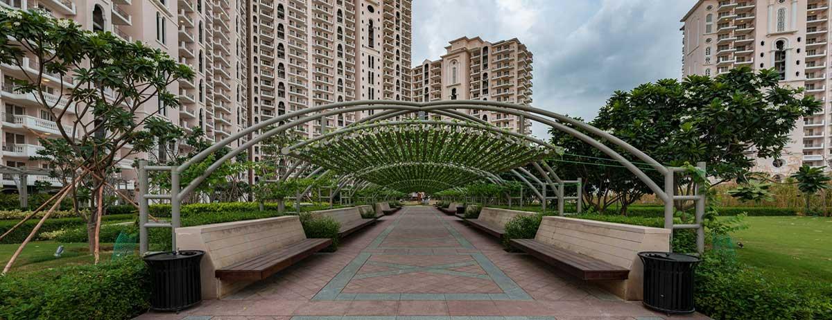 DLF Regal Gardens Actual Images