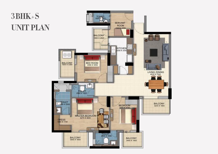 DLF Ultima Floor Plan