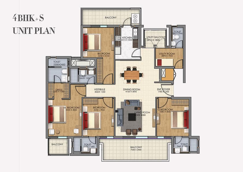 DLF Ultima Gurgaon Floor Plan
