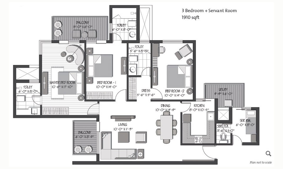 3C Greenopolis Floor Plan
