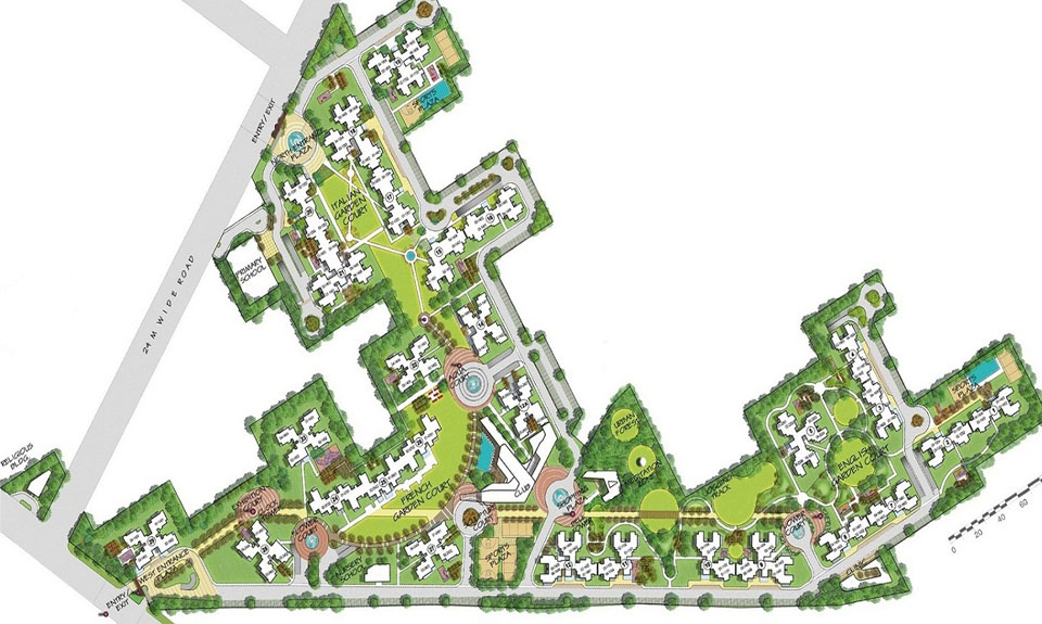 3C Greenopolis Master Plan