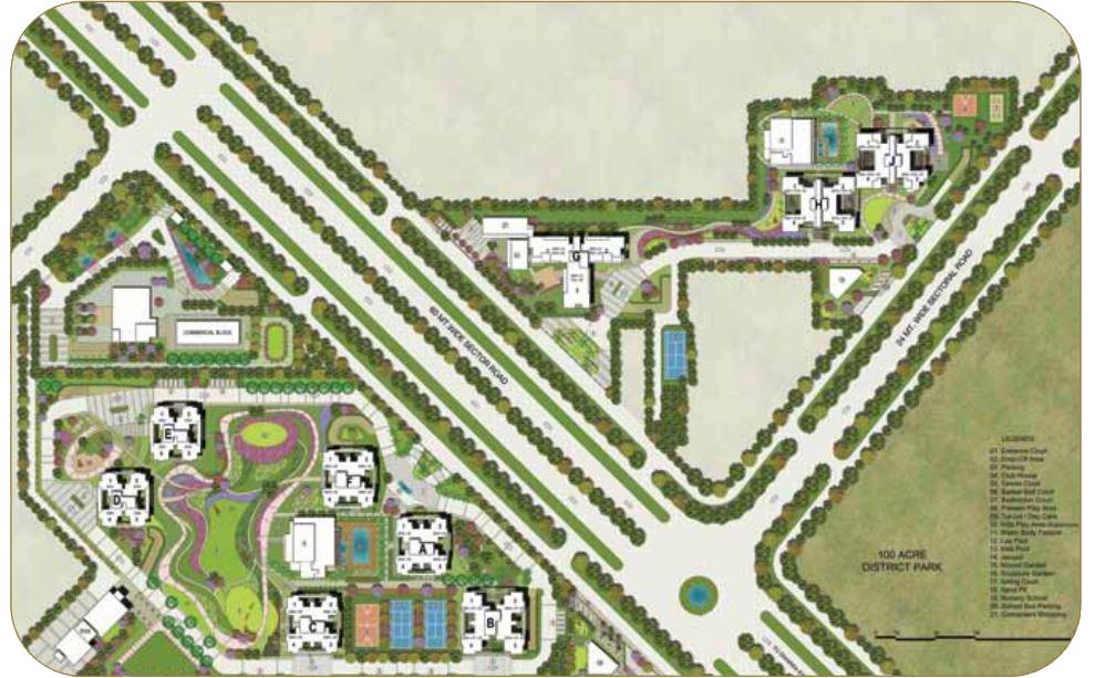Adani Oyster Grande Master Plan