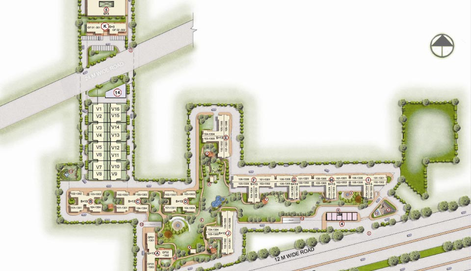 Ansal Heights 86 Master Plan