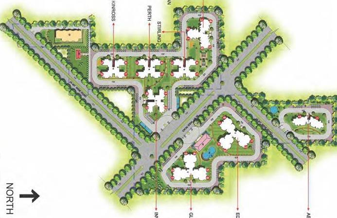 Ansal Highland Park Master Plan