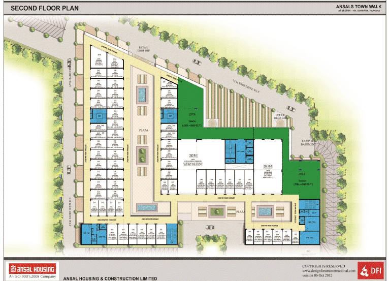Ansal Town Walk Floor Plan