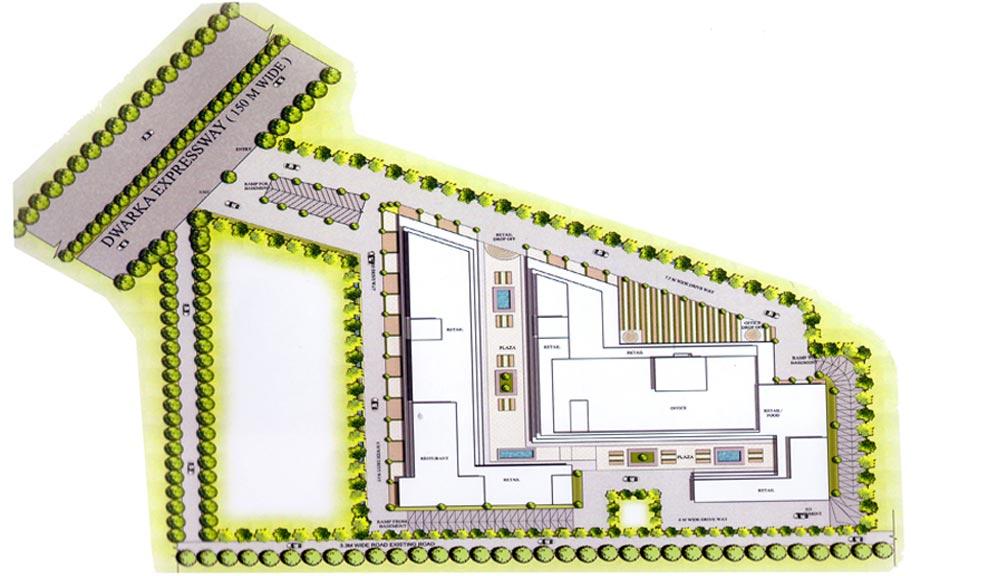 Ansal Town Walk Master Plan