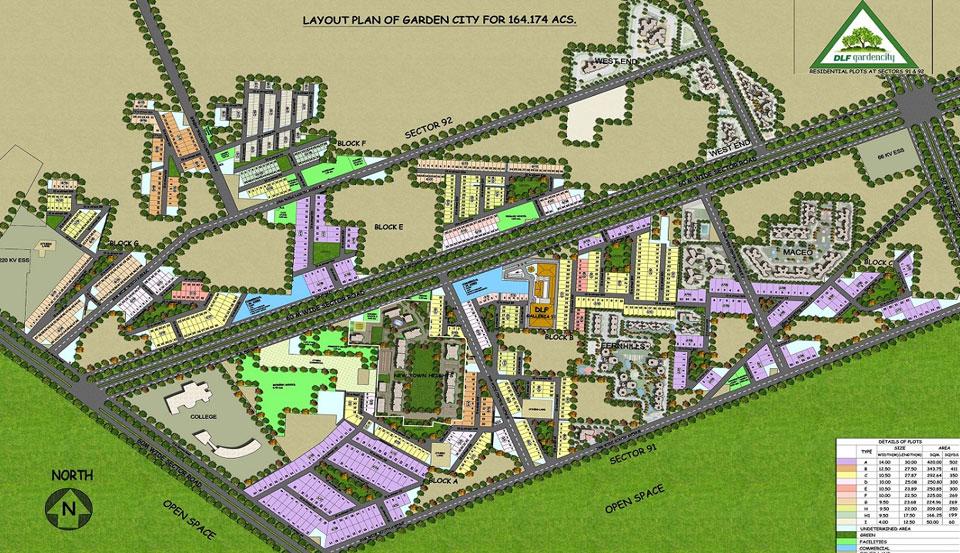 DLF Garden City Master Plan