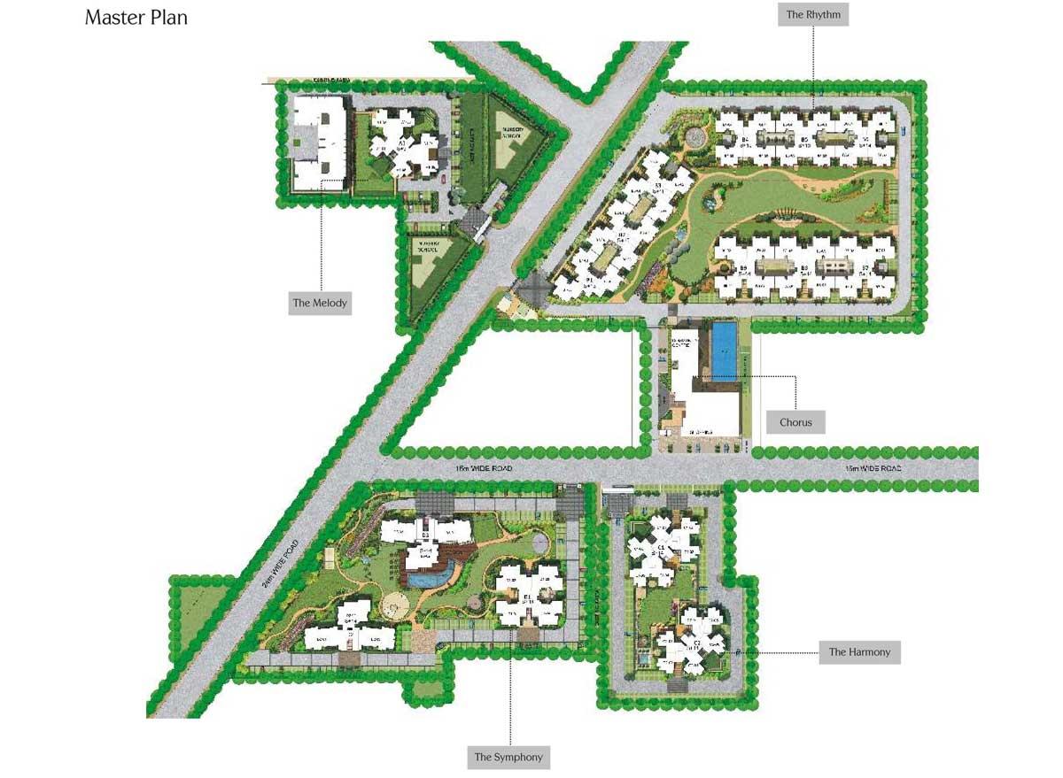 Experion Heartsong Gurgaon Master Plan