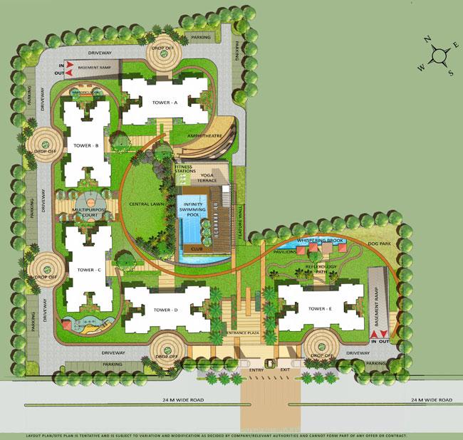 Ramprastha Primera Master Plan