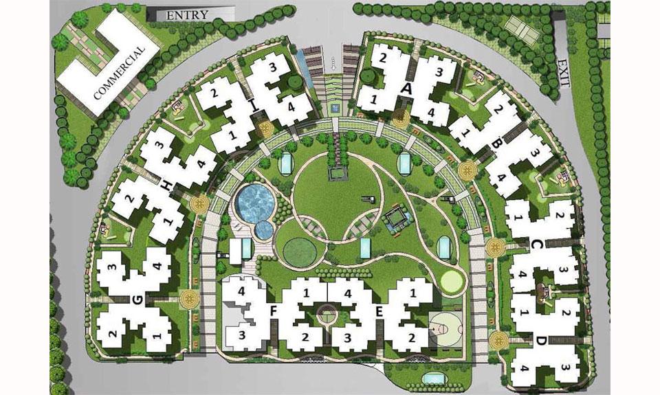 Ramprastha SKYZ Master Plan