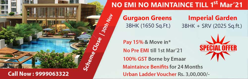 Emaar gurgaon greens And Imperial Gardens