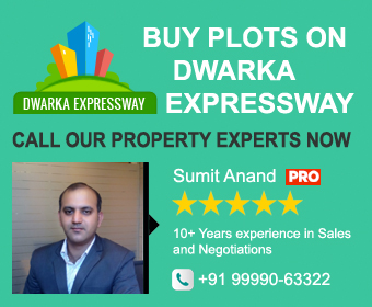 Buy plots on dwarka expressway