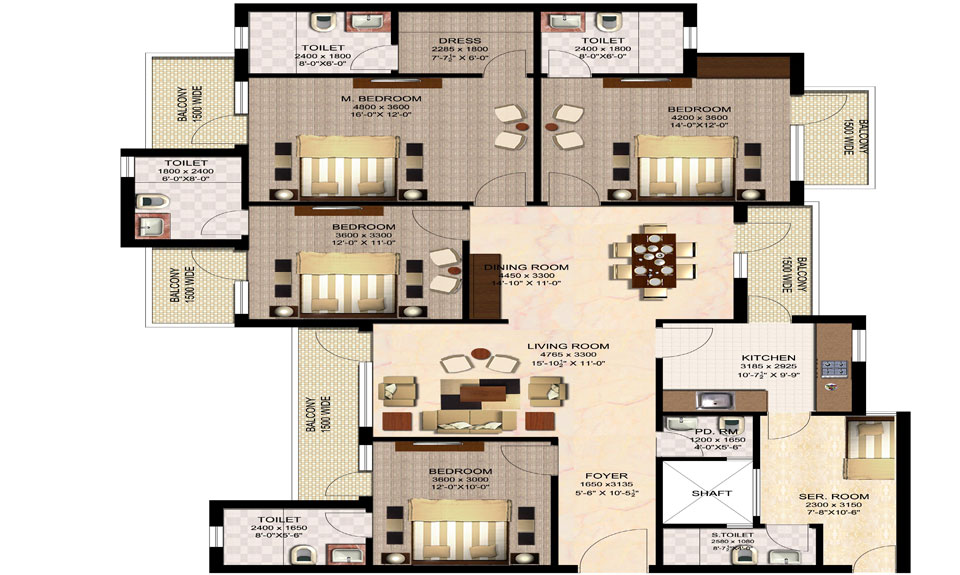Imperia esfera gurgaon enigma resale buy property on 2400 sq ft house plans