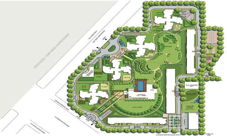 Indiabulls Enigma Luxury Apartments Dwarka Expressway